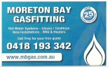Moreton Bay Gasfitting - Gas Fitting Service Caboolture logo