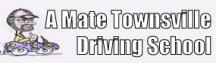 A Mate Driving School & Townsville Driving School logo