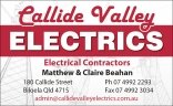Callide Valley Electrics - Electrician Biloela | Electrical Installations logo