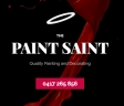 The Paint Saint - Painter Newport logo