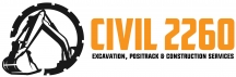 CIVIL2260 Pty Ltd - Excavation logo