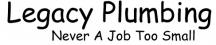 Legacy Plumbing - Plumber Townsville logo