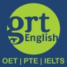 GRT English: OET | PTE Academic | IELTS logo