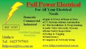 Electrician Narre Warren | Full Power Electrical logo
