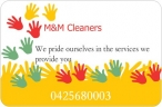 M&M Cleaners - Cleaning Service Hillside logo