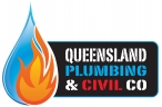 Queensland Plumbing & Civil Co - Plumbing Services Brisbane ~ Ipswich ~ Gold Coast logo
