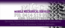 MGC Mobile Mechanical Services - Mechanical Repairs logo