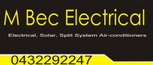 M Bec Electrical - Electrical Contractor Cairns logo