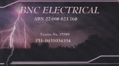 BNC Electrical - Electrician Blackwater logo
