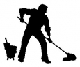 Eloc Office Home Commercial & Industrial Cleaners. logo