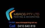 M Bros Pty Ltd - Painter & Decorator North Shore logo