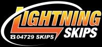 Lightning Skips - Skip Bin Hire logo