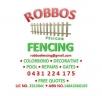 Robbos Fencing - Fencing logo