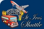 St. Ives Airport Shuttle - Upper North Shore logo
