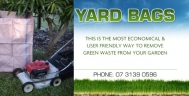 Yard Bags Green Waste Collection Logan City logo