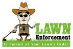 Lawn Enforcement Lawn Mowing Melbourne logo
