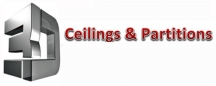 3D Ceilings & Partitions Pty Ltd - Suspended Ceilings Darwin logo