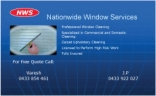 NWS Window Cleaners Melbourne logo