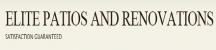Elite Patios and Renovations logo