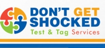 Don't Get Shocked Test & Tag Services - Safety Testing North Brisbane logo