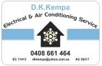 D.K.Kempa - Electrical Contractors Yanchep EC11413 logo