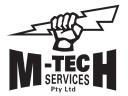 M-Tech Services - Electrical Contractor Falcon logo