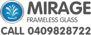 Mirage Frameless Glass Sydney logo