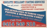 Absolute Brilliant Coating Service - Sunshine Coast logo