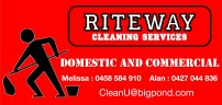 RITEWAY Commercial Cleaning Services Canberra logo