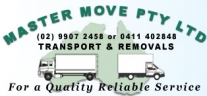 Master Move Furniture Removals Northern Beaches North Shore logo