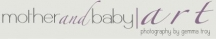 Newborn Photography Canberra by Mother & Baby Art logo