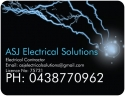 ASJ Electrical Solutions - Electrical Contractor Rockhampton logo