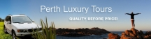 Perth Luxury Tours - Day Tours Perth CBD, Margaret River, Swan Valley logo