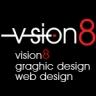 Vision8 logo