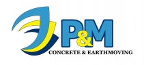 P&M Concrete & Earthmoving Somerville | Melbourne logo