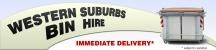 Western Suburbs Bin Hire logo