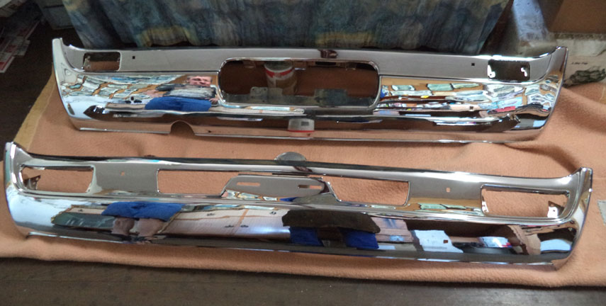 Steel Bumper Bars Townsville, Re-Plating Motorcycle Parts Sunshine Coast, Copper Plating Cairns