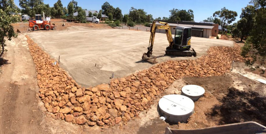 Site Excavation Perth Hills, Rock Breaking Mundaring, House Pads Gidgegannup
