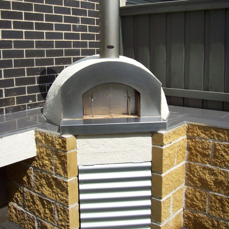 Outdoor Pizza Oven Bellarine Peninsula, Wood Fired Oven Installation Melbourne, Concrete Base Ovens Leopold