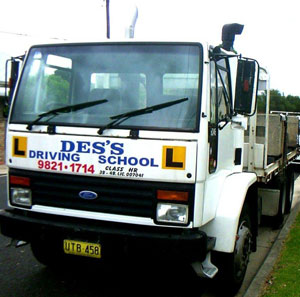 Truck Driving Instructor Bankstown, Semi Trailer Lessons Blacktown, Truck Driving Lessons Western Sydney