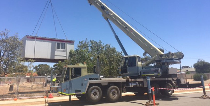 Loading Scrap Metal Bin Merredin, Mining Shutdowns Nungarin, Lifts for Construction Carrabin