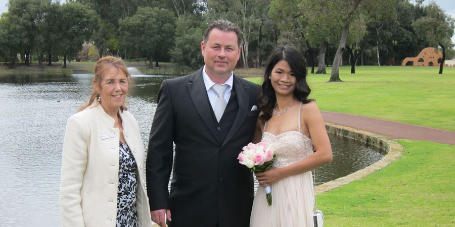 Wedding Officiant Welshpool, Wedding Celebrant Perth, Celebrancy Services Rivervale